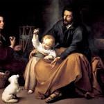 Sacra Familia del Pajarito_1650_Murillo_Museo del Prado